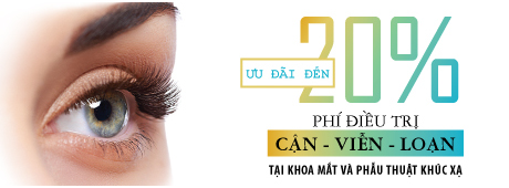 FV HOSPITAL OFFERS DISCOUNT UP TO 20% FOR REFRACTIVE ERRORS TREATMENT FROM 26/4 TO 31/8/2018