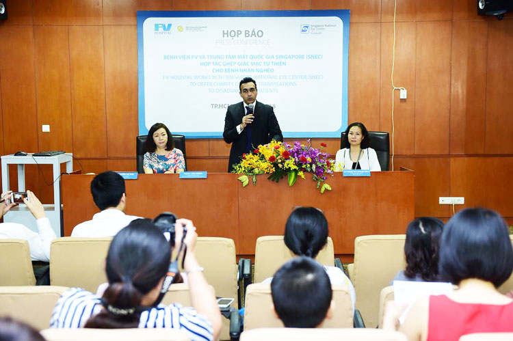 FV Hospital offers Charity corneal transplants to restore