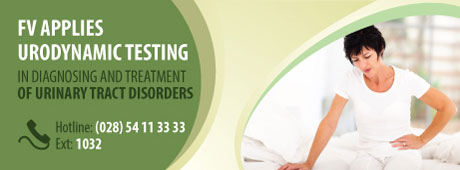 FV now applies urodynamic testing in the treatment of urinary tract disorders