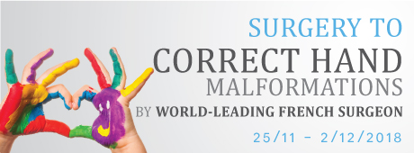 Surgery To Correct Hand Malformations By Dr Stephane Guero – A World-leading French Surgeon