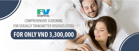 Comprehensive screening for sexually transmitted diseases (STDs) at FV for only VND 3,300,000
